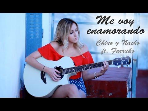 Me voy Enamorando Acordes de guitarra con letra como tocar ...