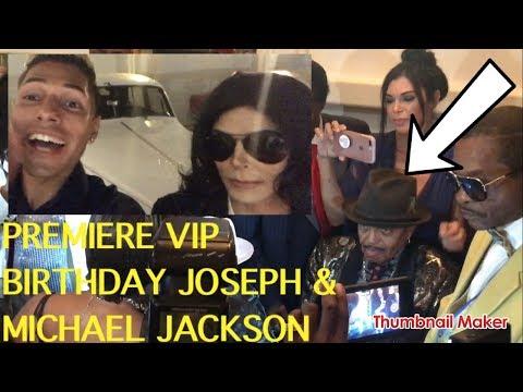 I MET JOSEPH & MICHAEL JACKSON (VIP PREMIER BIRTHDAY PARTY)