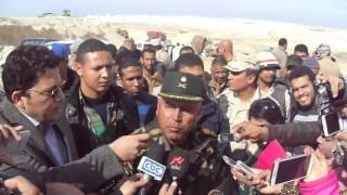 قناة السويس الجديدة: كامل الوزير ينفى أنهيار حوض ترسيب