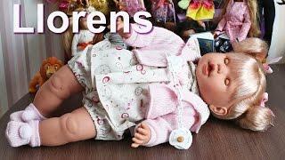 Кукла Бебе Llorens, 48 см