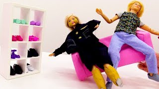 ШОК💥: #Барби РАСТОЛСТЕЛА! Правильное питание и спорт🏋: Барби ДО и ПОСЛЕ. Видео для девочек