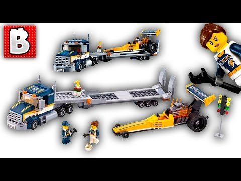 Lego City Dragster Transporter 60151 | Live Build and Review