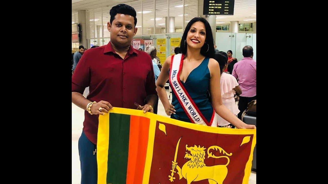 Caroline Jurie Mrs World Mrs Sri Lanka 2020 - YouTube