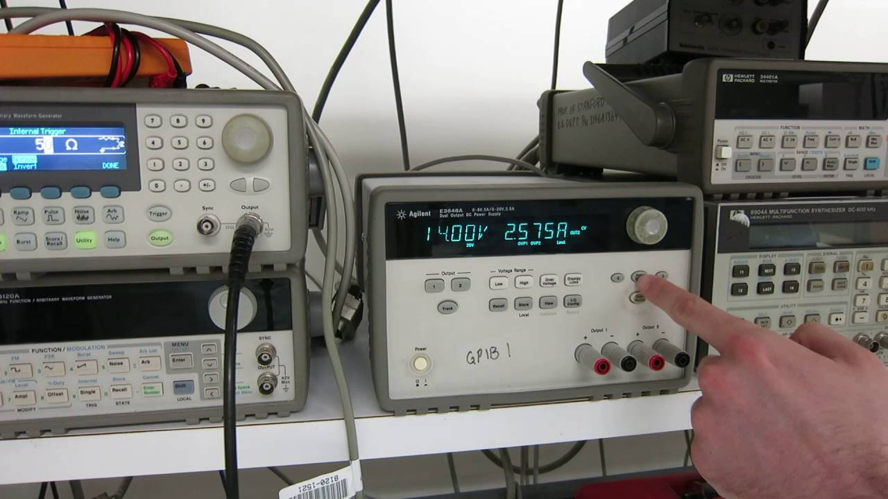 Current Limiting On The Dc Power Supply Youtube How To Build An Add Limiter For Your Psu
