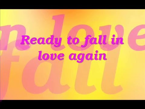 Ready To Fall In Love Again -Angelika (with Lyrics)