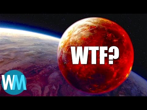 Top 10 Weirdest Planets We've Discovered