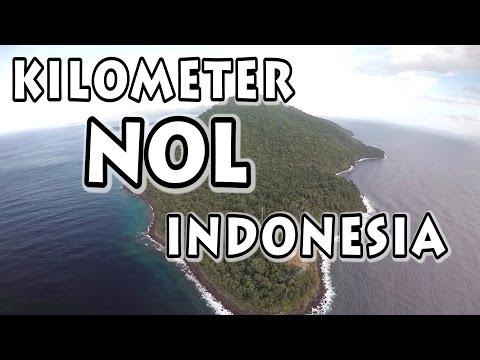 Menengok Ujung Barat Indonesia, Tugu Nol Kilometer Di Sabang, Pulau Weh Dari UDARA