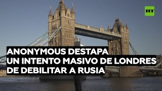 Filtran evidencias de que Reino Unido gasta millones de libras esterlinas para debilitar a Rusia