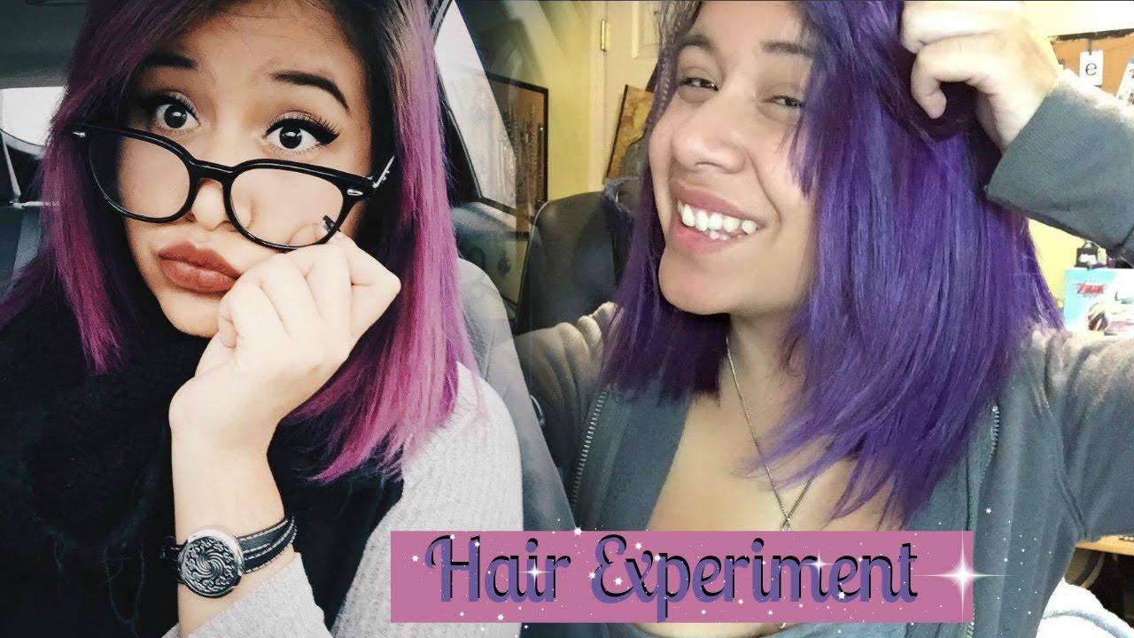 Manic Panic Experiment Purple Haze Vs Ultra Violet Youtube