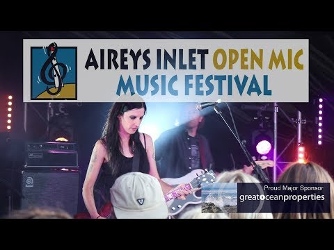Aireys Inlet Open Mic Music Festival 2018