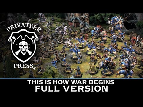 This Is How War Begins - New Editions of WARMACHINE & HORDES Announcement (Full version)