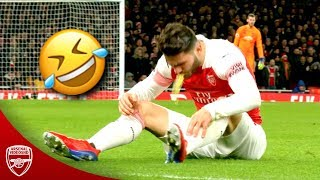Arsenal Funny Moments 2019