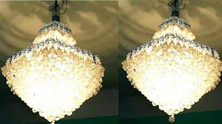 পুতির ঝাড়বাতি(১ম অংশ)  ঝুলন্ত ঝাড়বাতি  বাতিদান  How to make beaded chandelier  light  Diy craft