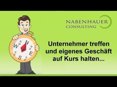 Unternehmer treffen Unternehmer - Der Unternehmertreff von Nabenhauer Consulting