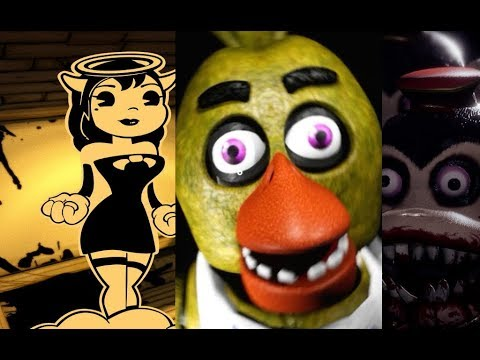 Хоррор-вечер   Стрим   Creepy Nights at Freddy's, Dark Deception, Bendy and the ink machine