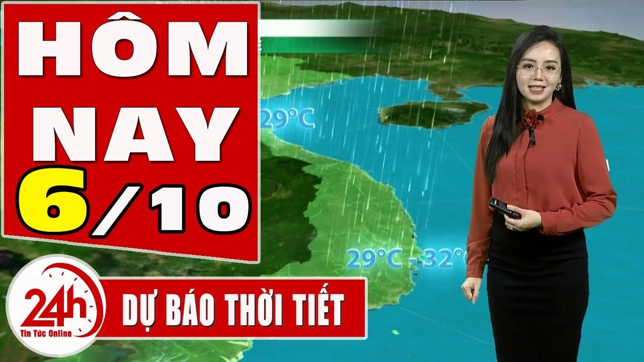 Dự báo thời tiết hôm nay mới nhất ngày 6 10 2020 Dự báo thời tiết 3 ngày tới