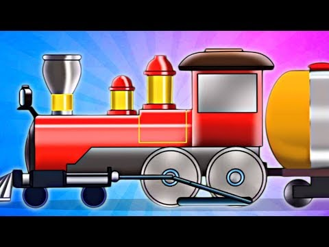 The Various Uses Of Train | Transport Vehicles For Children by Kids Channel
