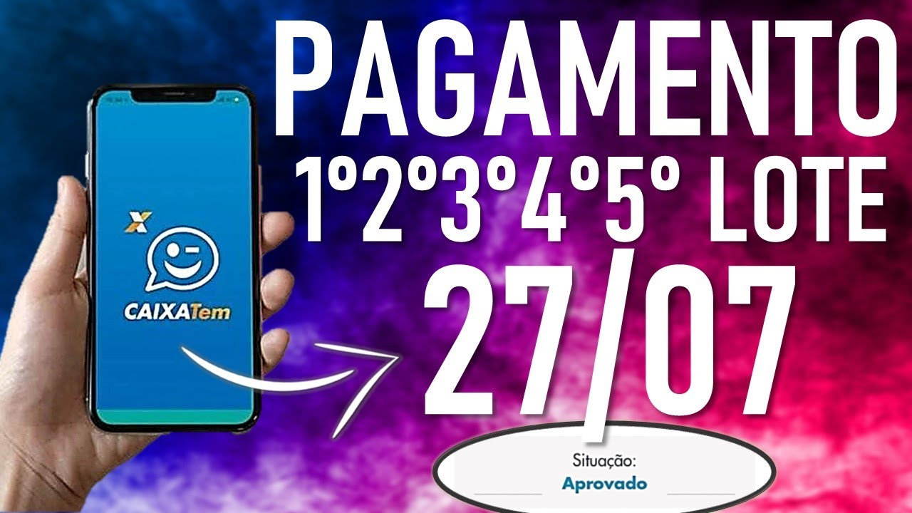 ✔️NOVIDADES A PARTIR DE HOJE (27/07) NO PAGAMENTO DO AUXÍLIO EMERGENCIAL DE R$600! CONFIRA NO VÍDEO!