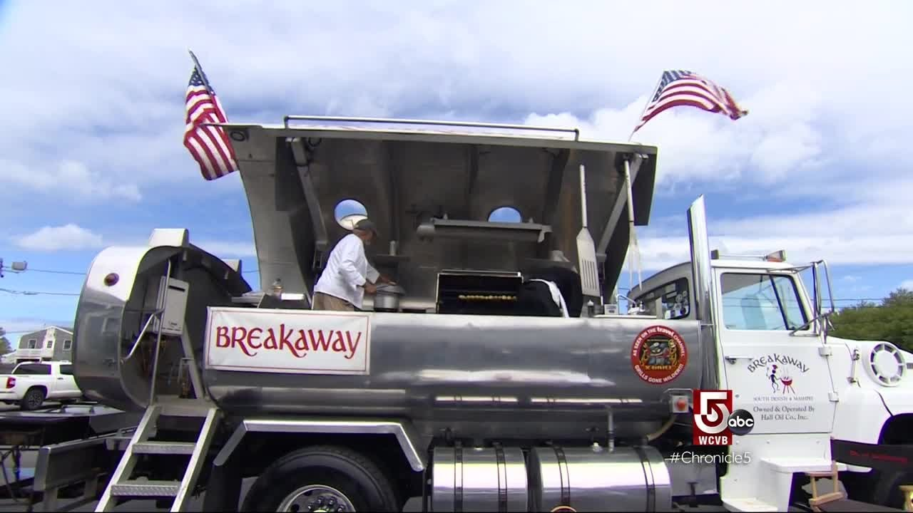 Breakaway & X-Grill's Segment on Chronicle on WCVB Channel 5