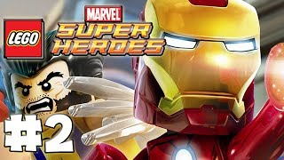 LEGO Marvel Superheroes - Part 2 - Times Square Off  (HD Gameplay Walkthrough)