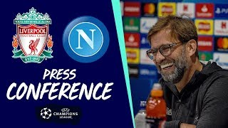 Klopp & Robertson's Champions League press conference | Napoli