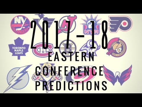 2017-2018 NHL EASTERN CONFERENCE STANDINGS PREDICTION!