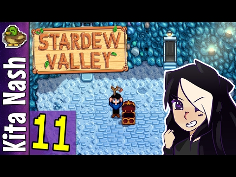 Stardew Valley Gameplay Part 11 - MINE LEVEL 40 - Let's Play