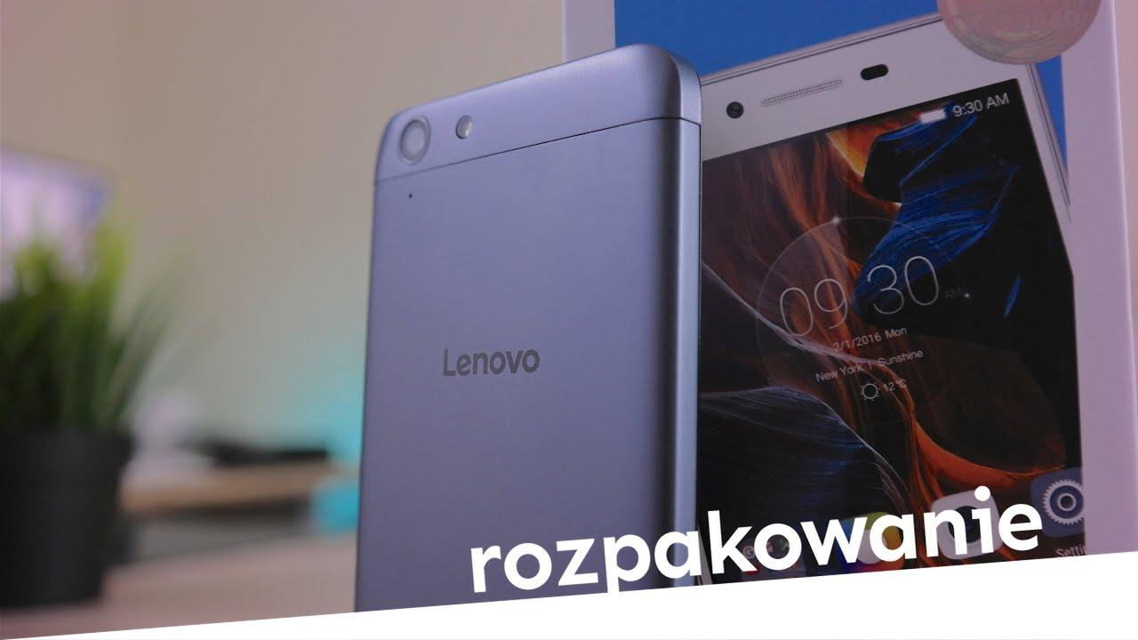 Lenovo K5 Rozpakowanie Unboxing