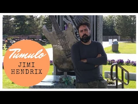 CEMITÉRIO JIMI HENDRIX SEATTLE ASTRO DO ROCK  VOLTA AO MUNDO DE MOTORHOME  EP44