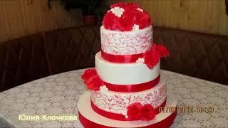 Торты.20 свадебных тортов.Мои работы.Юлия Клочкова.