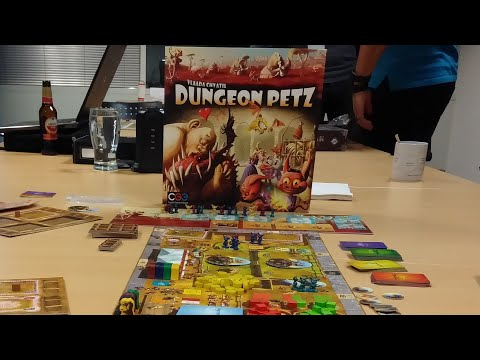 Dungeon Petz Board Game - How To Setup, Play And Review * Amass Games *