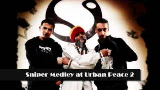 Sniper medley at  the urban peace 2 concert
