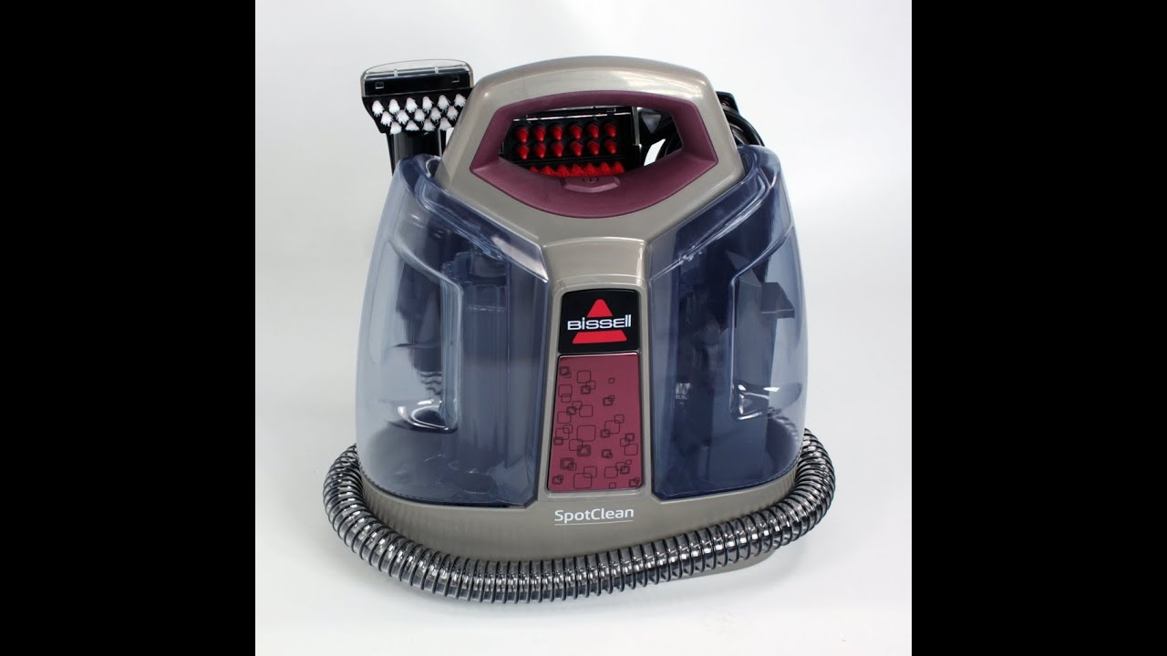 bissell spotclean portable carpet spot and stain cleaner youtube - Bissell Steam Cleaner