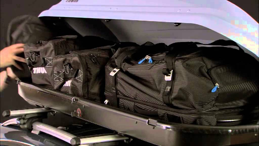 thule pacific roof box youtube. Black Bedroom Furniture Sets. Home Design Ideas