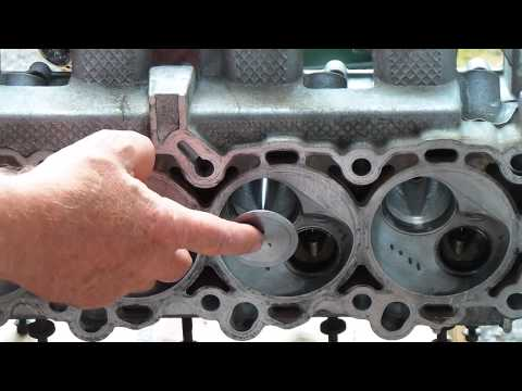 How To Install Cylinder Head Valves On A 3.7/4.7 Chrysler Engine