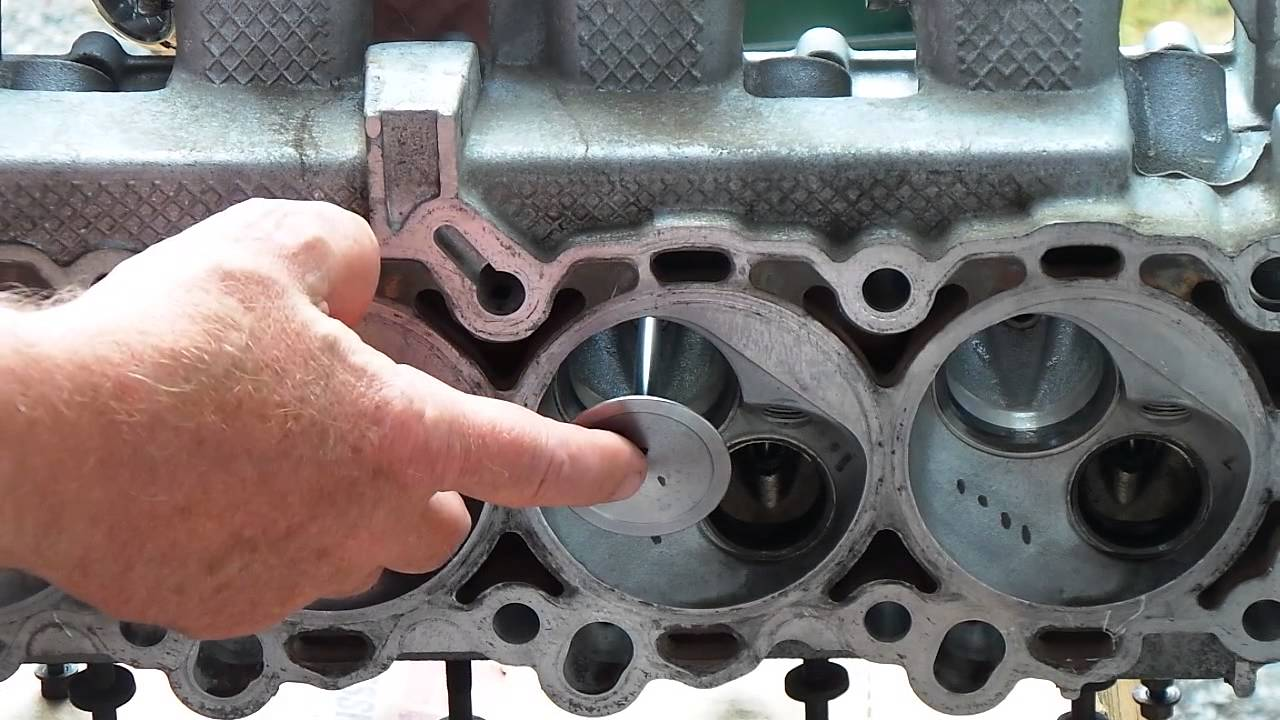 how to install cylinder head valves on a 3 7 4 7 chrysler. Black Bedroom Furniture Sets. Home Design Ideas