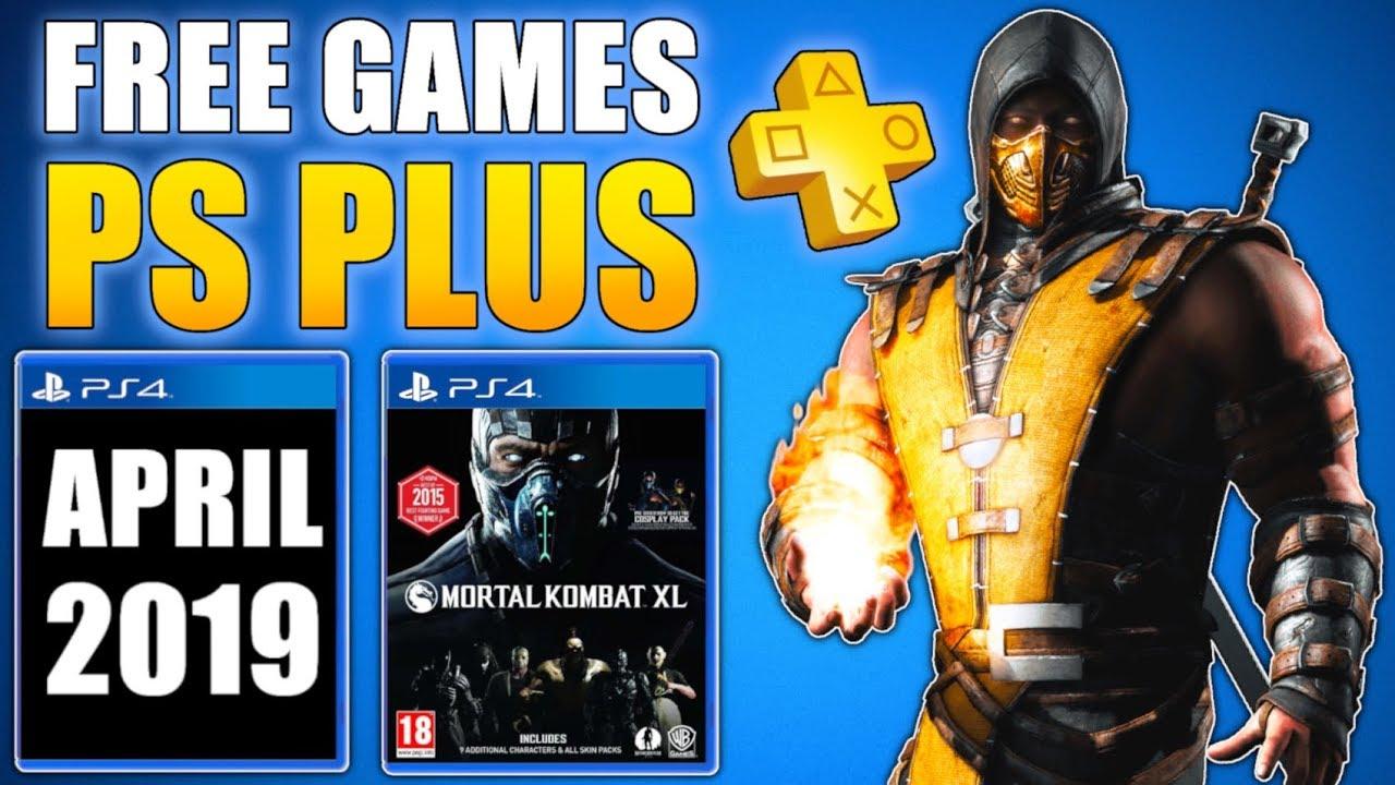 april 2019 free ps plus games