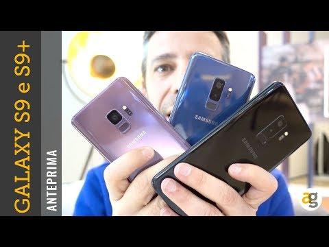 Samsung GALAXY S9 e S9 plus ANTEPRIMA prezzo e disponibilità