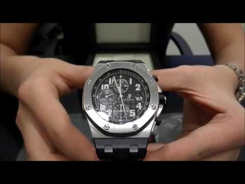 AP Audemars Piguet Royal Oak Offshore 26020ST Chrono Black Themes | WatchesGMT