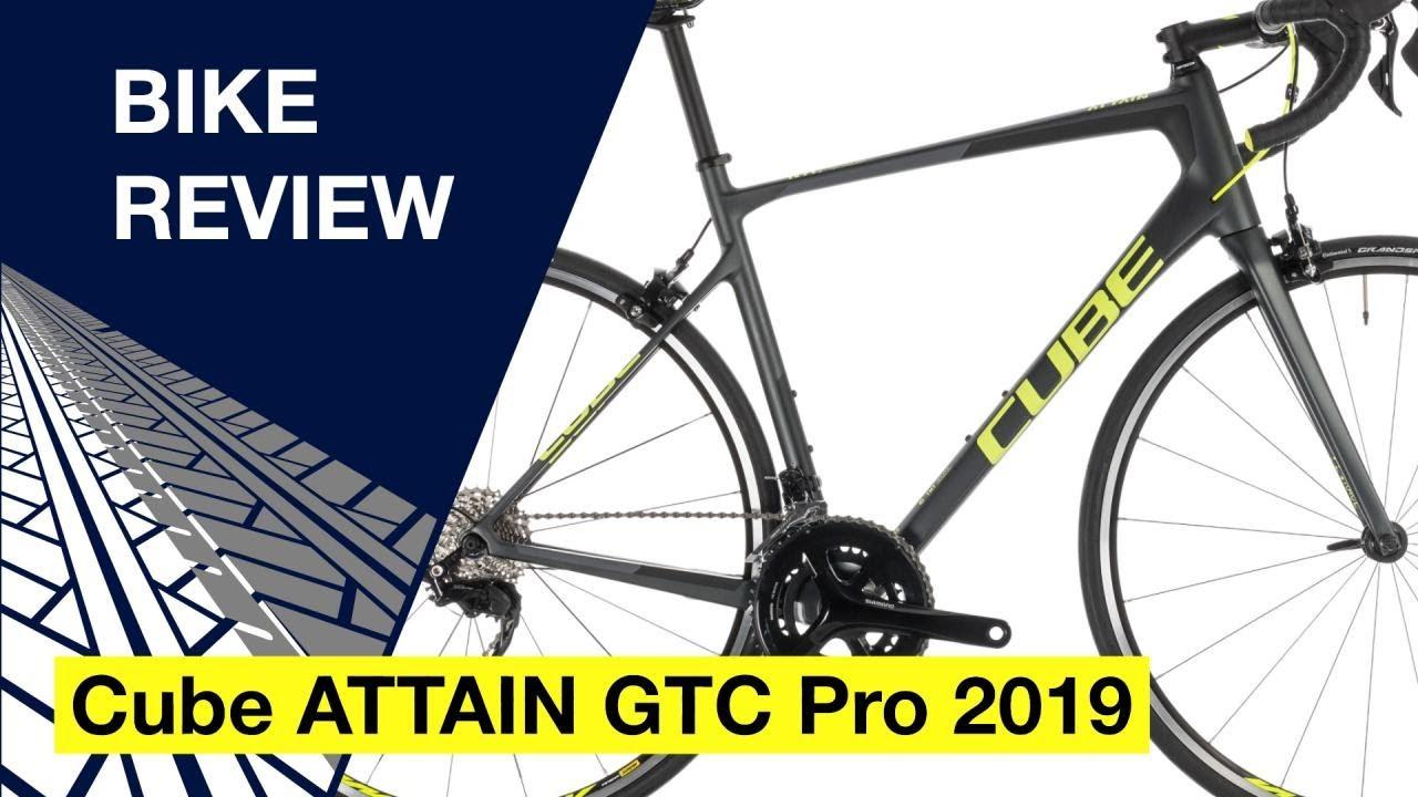 27150da420d Cube ATTAIN GTC Pro 2019: Bike review - YouTube