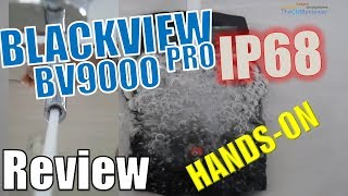Blackview BV9000 Pro Test - IP68 Rugged - Dual CAM Helio P25 - Hands...