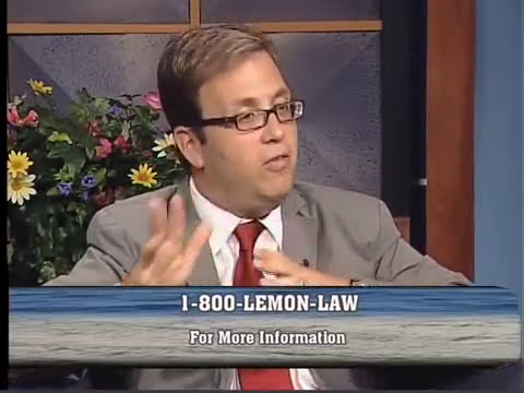 New Jersey Lemon Law Consumer Information (Part 1)
