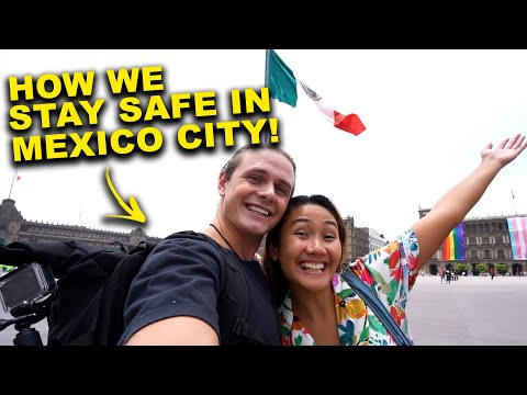 is Mexico City DANGEROUS to TOURISTS? (Sea, Eat, & Stay Travel Guide)