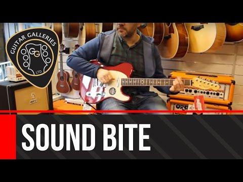 Fender FSR American Standard Telecaster Channel Bound Neck Dakota Red