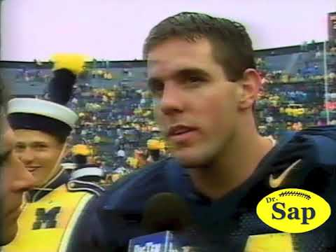 1997 Minnesota Michigan Brian Griese Interview