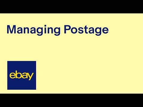 eBay for Business | Managing Postage (recording of live webinar)