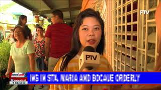 Voting in Sta. Maria and Bocaue orderly