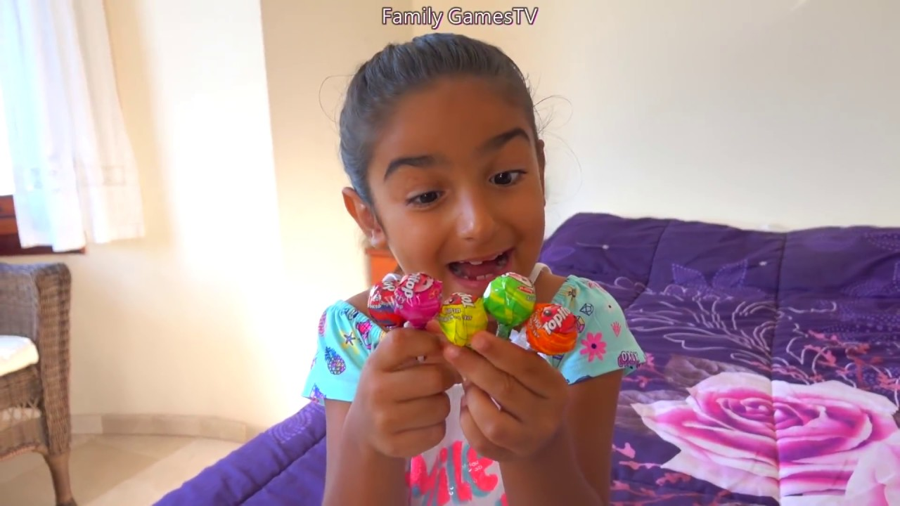 Who took ESMA's lollipops? for kids video