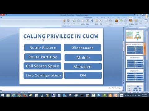 4- CCNA Collaboration Lab Routing Call And Privilege