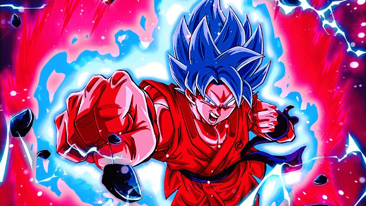 GIVE THIS 👑👑 AN EZA! Super Saiyan Blue Kaioken Goku in 2019   Dragon Ball  Z Dokkan Battle